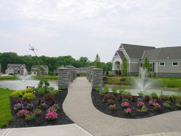 Bridge Point - Green Township, OH New Homes - Sidewalk