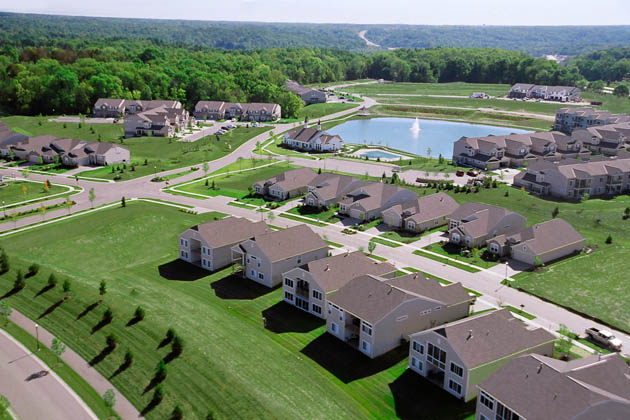 Lexington Run - Twin Spires - Batavia, OH New Homes - Aerial